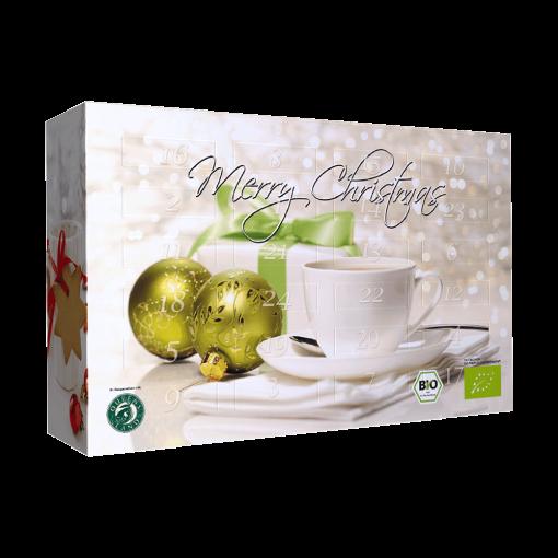Weihnachtskalender Tee.Weihnachtskalender Bio Tee Adventskalender Loser Tee 24 Sorten 360g