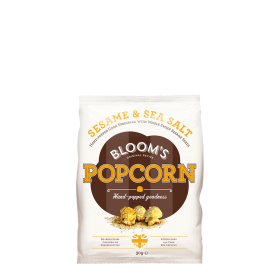 Blooms Gourmet Popcorn Sesame and Seasalt ~ 1 Beutel a 30 g