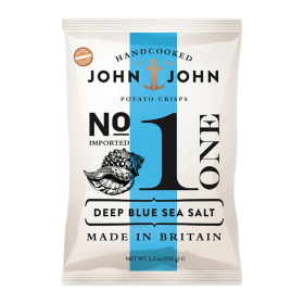John & John Premium Chips Nr 1 Deep Blue Sea Salt ~ Beutel a 150 g