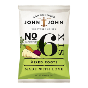 John & John Premium Chips Nr 6 Mixed Roots ~ Beutel a 100 g