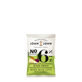 John & John Premium Chips Nr 6 Mixed Roots ~ Beutel a 40 g