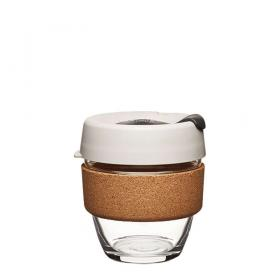 Keep Cup aus Glas (Filter Cork Edition) ~ 1 Becher mit Deckel 8 oz