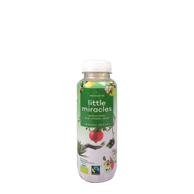 Little Miracles Organic Green Tea & Pomegranate ~ 330 ml in der Flasche (zzgl. 0,25 ¤ Pfand)