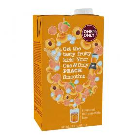 one&only Smoothie Peach ~ 1 l Tetrapack