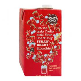 one&only Smoothie Strawberry ~ 1 l Tetrapack