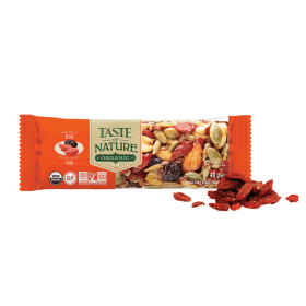 Taste of Nature Nuss- und Fruchtriegel Bio Goji Summit ~ 1 x 40 g Riegel
