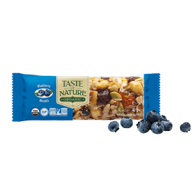 Taste of Nature Nuss- und Fruchtriegel Bio Blueberry ~ 1 x 40 g Riegel
