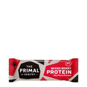 The Primal Pantry Protein Bar Mixed Berries ~ 1 x 55 g Riegel