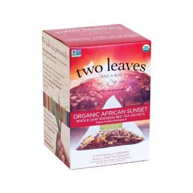 two leaves and a bud African Sunset Bio Rooibos Tee ~ 1 Box a 15 Beutel