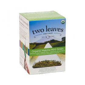 two leaves and a bud Matcha Minze Bio Grüntee ~ 1 Box a 15 Beutel