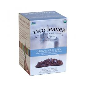 two leaves and a bud Earl Grey Bio Schwarzer Tee ~ 1 Box a 15 Beutel