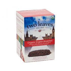 two leaves and a bud English Breakfast Bio Schwarzer Tee ~ 1 Box a 15 Beutel