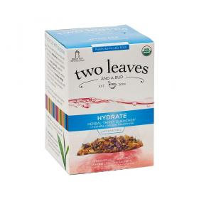 two leaves and a bud Erfrischung (Hydrate) Bio Kräutertee ~ 1 Box a 15 Beutel