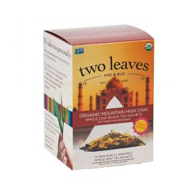 two leaves and a bud Mountain High Chai Schwarzer Tee ~ 1 Box a 15 Beutel