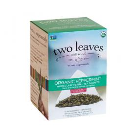 two leaves and a bud Pfefferminz Bio Kräutertee ~ 1 Box a 15 Beutel
