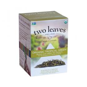 two leaves and a bud Tropical Sencha Grüner Tee ~ 1 Box a 15 Beutel