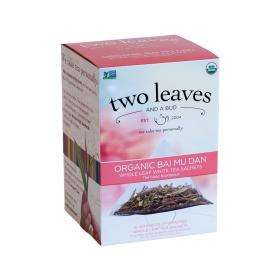 two leaves and a bud Bai Mu Dan Bio Weißer Tee ~ 1 Box a 15 Beutel